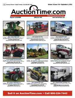 MachineryTrader com | AuctionTime Tractor Digital Edition